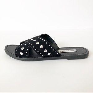 Steve Madden Janet Criss Cross Slip On Sandal